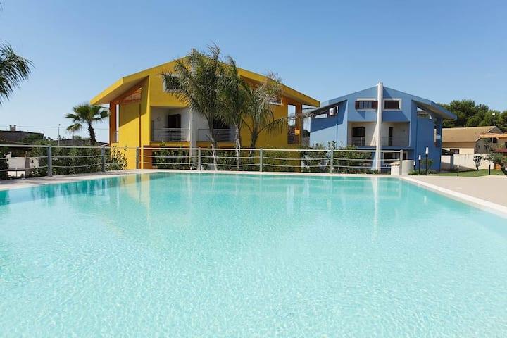 Villa con piscina a Sciacca