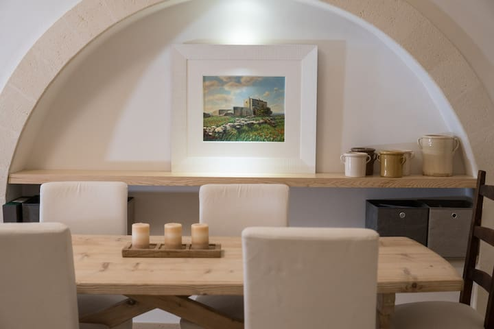 Exclusive apartment in typical apulian style