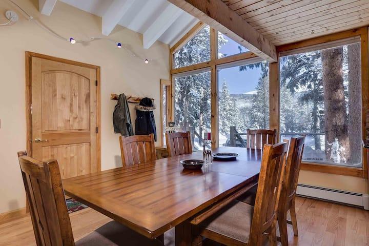 Private mountain home