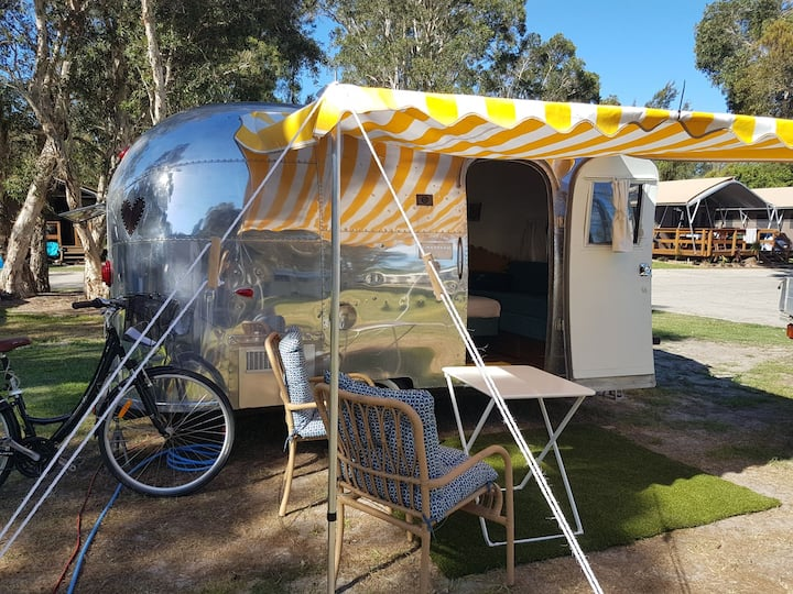 Airstream glamping Lennox Head
