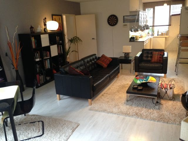 Two bedroom Apt. Big Garden - Haga