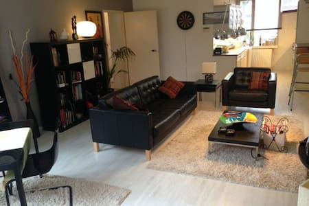 Two bedroom Apt. Big Garden - Haga - Apartament