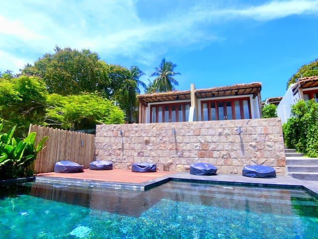 Marine villas @Beachfront  With private pool ^^