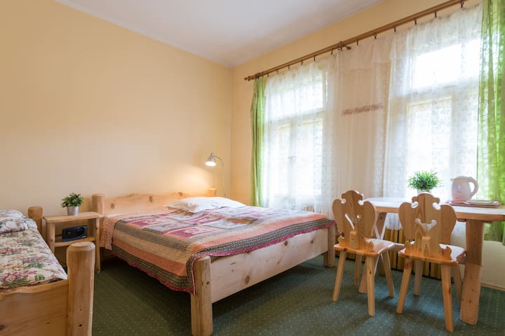 ZAKOPANE DOUBLE ROOM w/bathroom sleeps 2 or 3