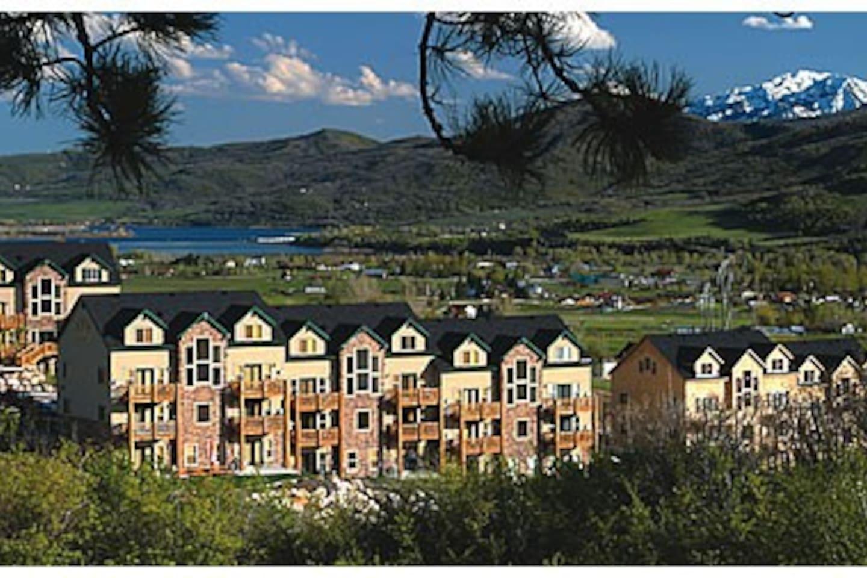 Moose Hollow Condos, Wolf Creek Resort, Ogden Valley, Eden Utah