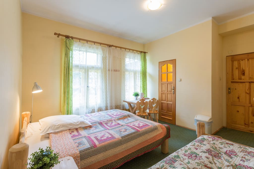Triple Room like all our triple rooms have double and single bed