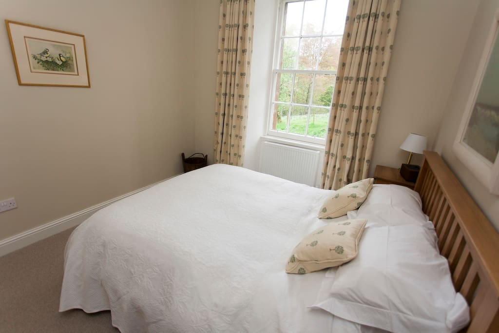 Sleep peacefully in luxurious Egyptian cotton and duck down duvets...