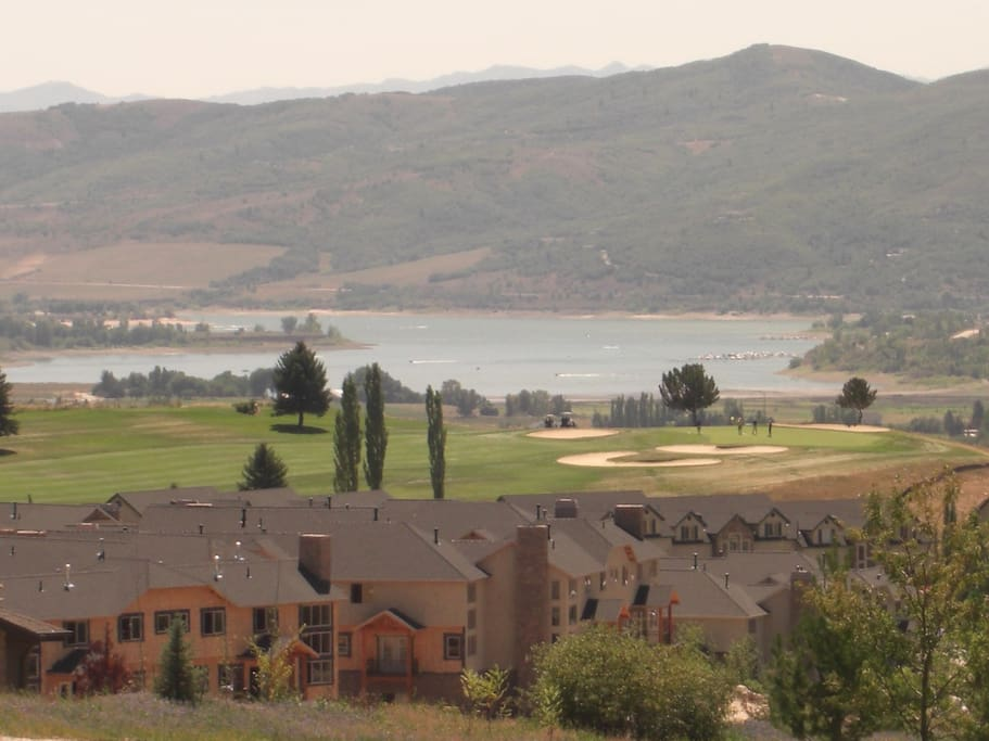 Pineview Resevoir & Adjacent Wolf Creek Golf Course Complex