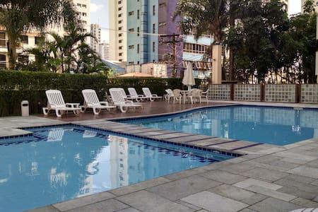 Private bedroom/bathroom - São Paulo