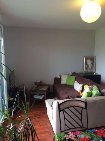 Chaleureux T2 - Frouzins - Apartamento