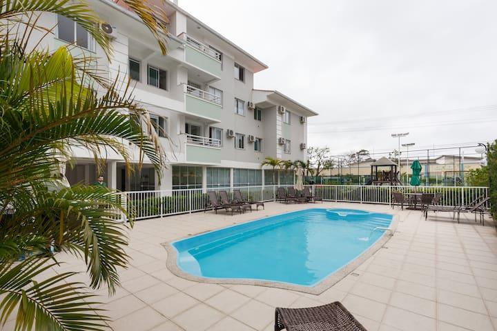 Apartamento Canasvieiras (aberta reserva mensal)