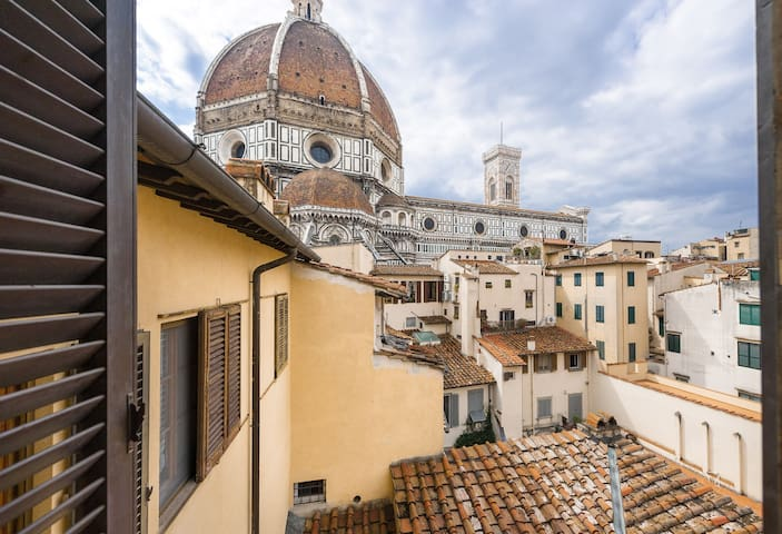 Florence city view apartment