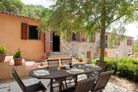 "Apartment ""1"" in stone guest house - Riparbella - Σπίτι"