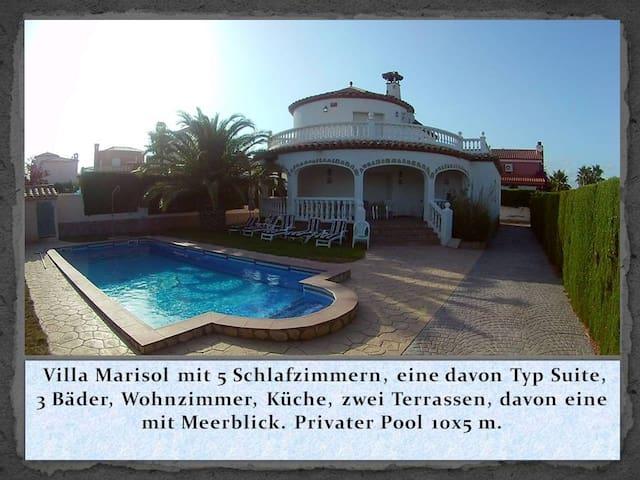 Villa Colonia mit Privat Pool und Meerblick