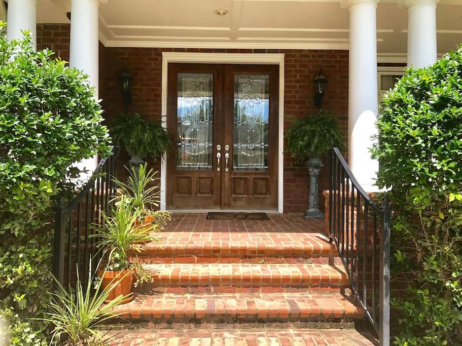 Front doors into our home