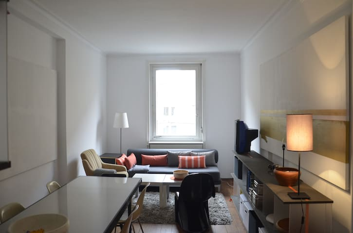1,5 room /historic neighbourhood