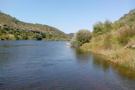 Em frente ao castelo, 3 min do rio - Amieira do Tejo