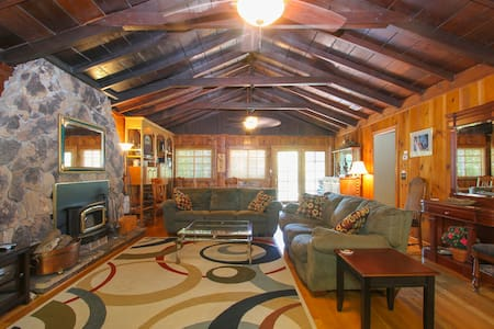 Lazy River Lookout: hot tub, kayaks - Guerneville - House