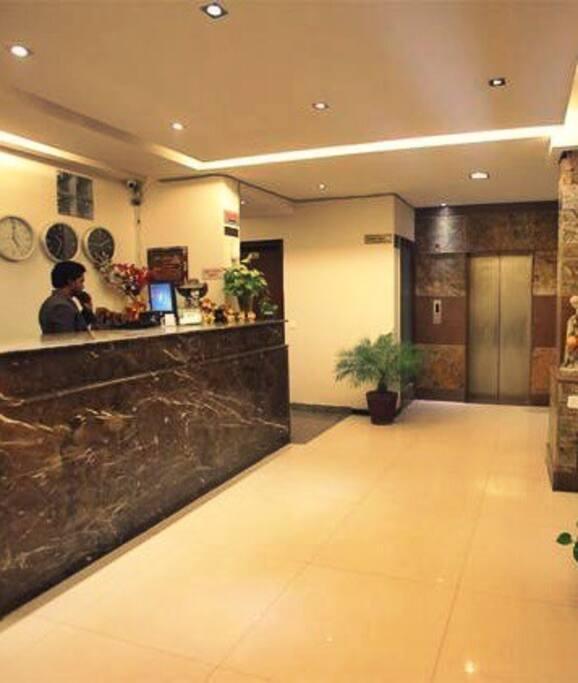 Lift in premises