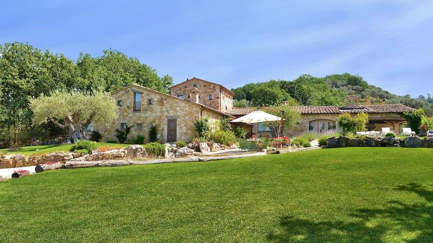 Villa di lusso ,piscina riscaldata, Orvieto 14 pl. - Guardea - Villa