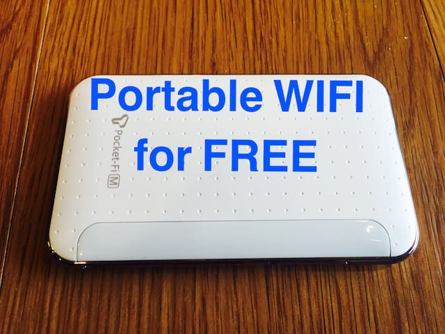 portable wifi device fro free