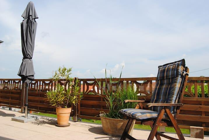 Ferienwohnung Kirchbergblick - Hackenheim - Apartamento