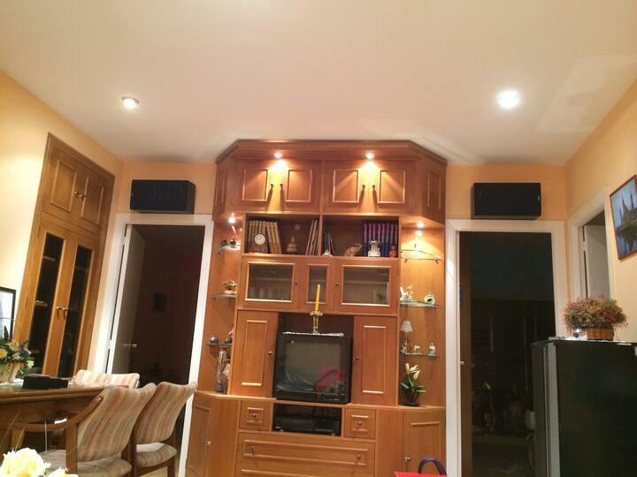 Apartamento acogedor y confortable