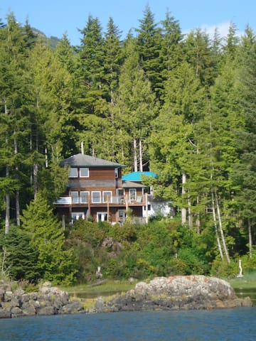 Quiet,waterfront room in casual B&B - Ucluelet - Bed & Breakfast