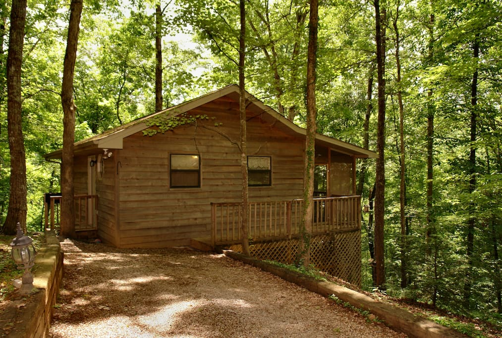 Teddy Bear Cabin Quiet Wooded Cabins For Rent In