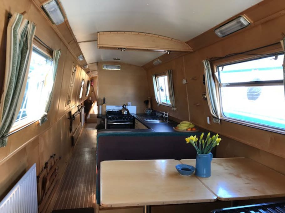 Dinette through to Galley