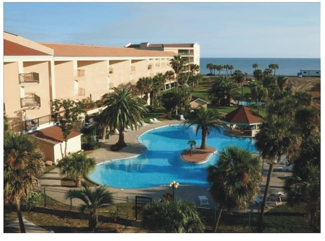 Beautiful Condo on the SeaWall *34 - Galveston - Apartemen