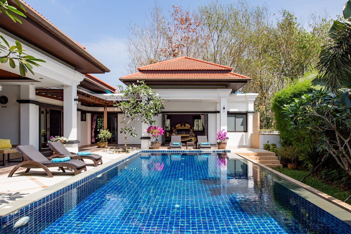 Luxury Private Pool Villa Frangipani Bang Tao Phuket