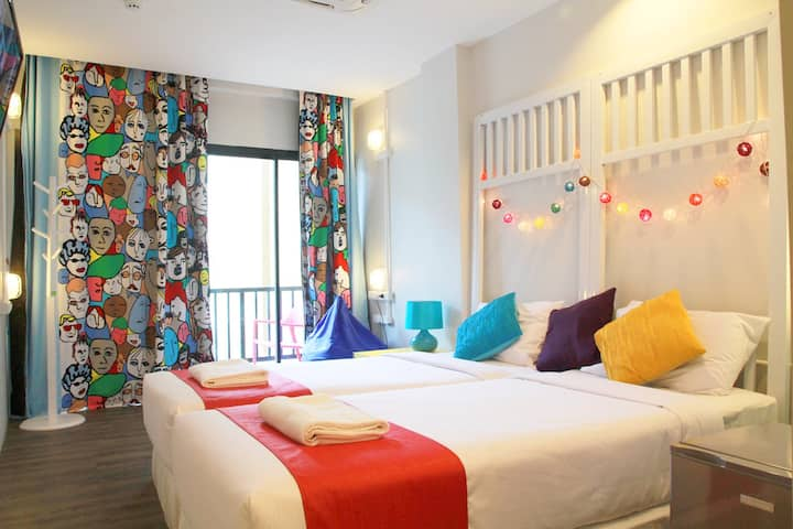 Fin Hostel Phuket @ Kata - Private 3