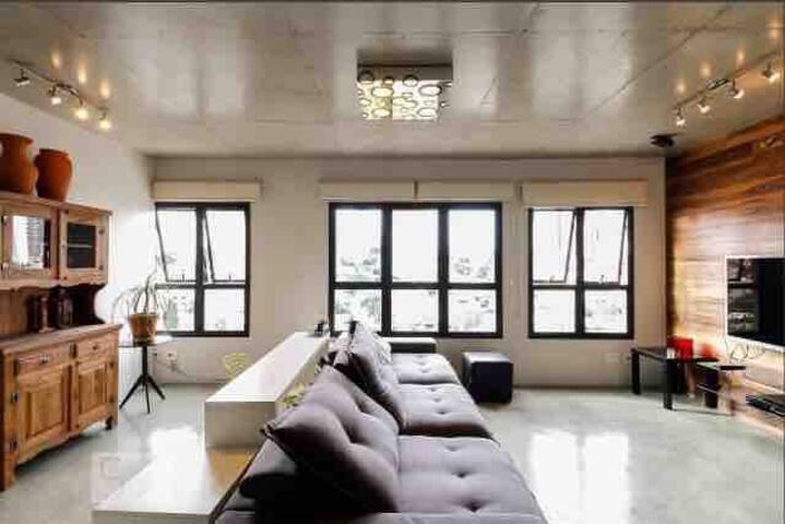 Apartamento moderno e confortavel tipo estudio