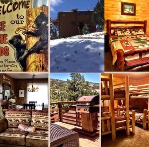 Cabin with  PANORAMIC view!! Wi-Fi, Cable, BBQ