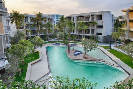 Beachfront Family Condo 2 BR @ Baan San Kraam
