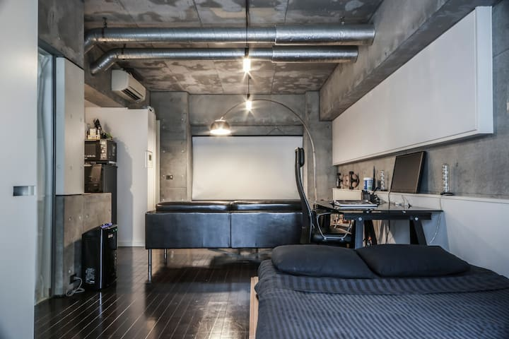 Deluxe apartment by Roppongi + Wifi - Minato-ku - Appartement
