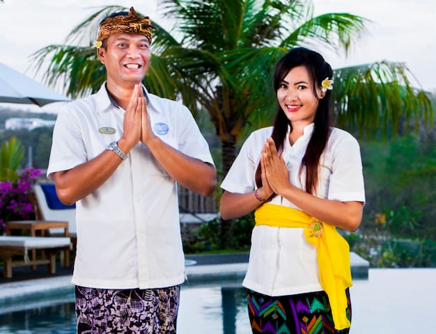 4-Deluxe Room Pool Access with Pandawa Beach Club