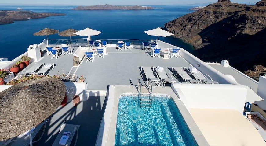 Apartment in Santorini- Sunset apt - Thira - Apartamento