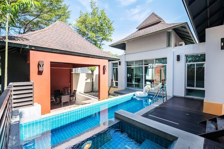 AnB poolvilla-2BR-Free WIFI-close to Jomtien beach
