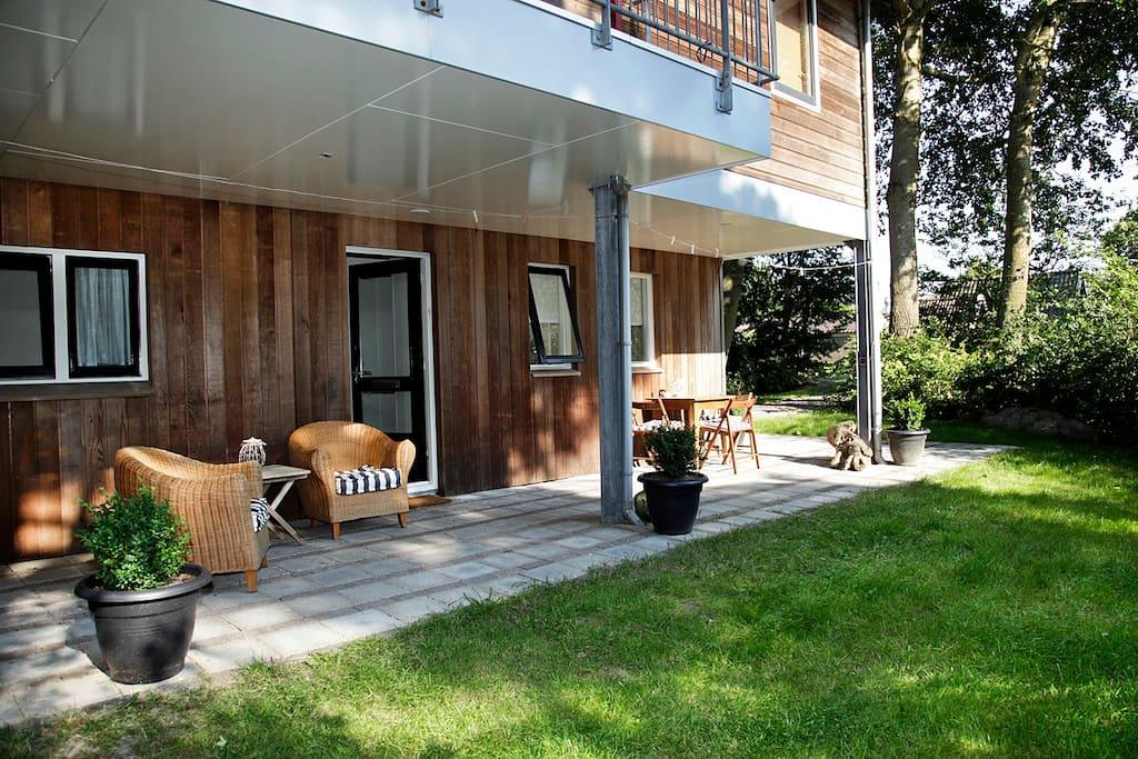 appartement met sauna houses for rent in schiermonnikoog friesland netherlands. Black Bedroom Furniture Sets. Home Design Ideas
