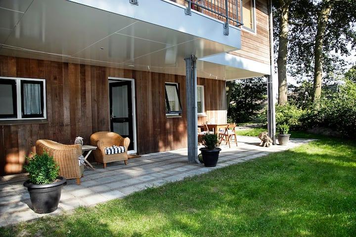 Appartement met sauna