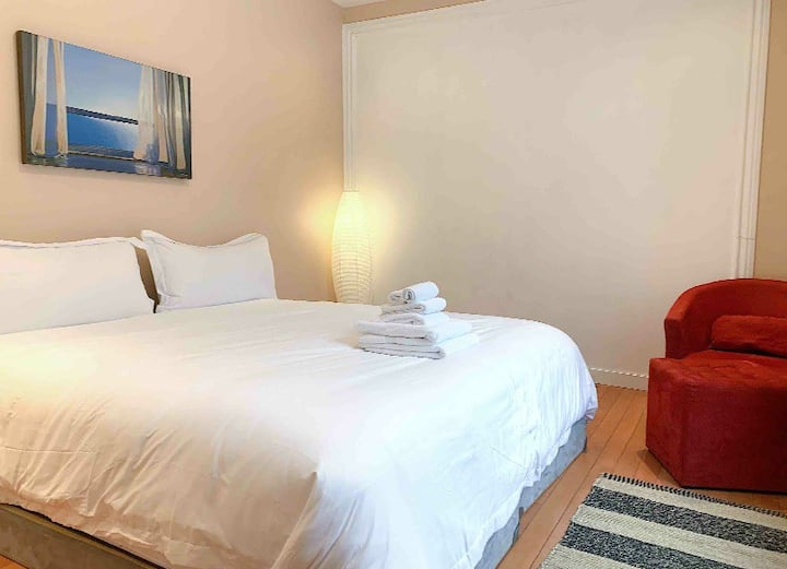 Downtown Rideau Street - King Size Private room !