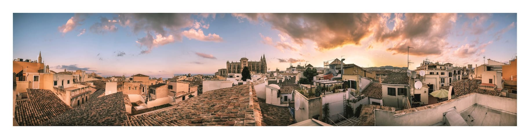 BIG ROOF TERRACE IN OLD TOWN PALMA - Palma - Byt