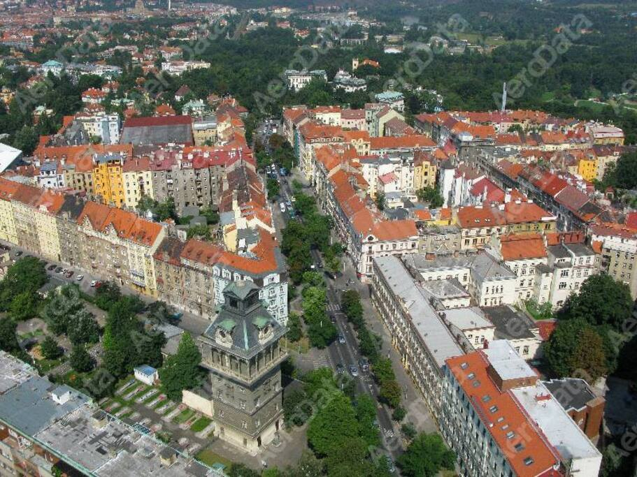 One of the nicest district in Prague.
