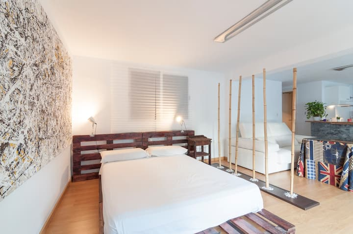Loft Apartment in El Candado Malaga