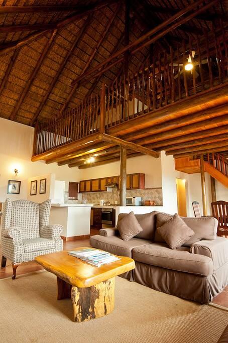 Magnificent interior of Cerinus Cottage...