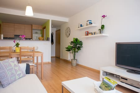 Modern apartment in Manresa centre - Manresa - Daire