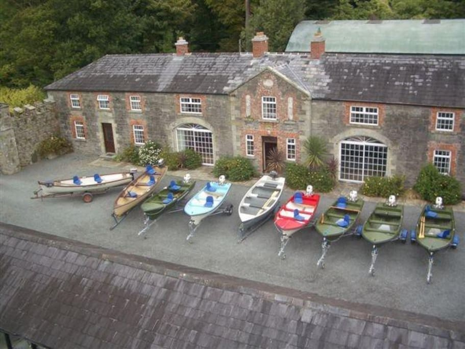 Boats and Engines at Castlehamilton