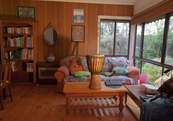 A quaint home with beautiful garden
